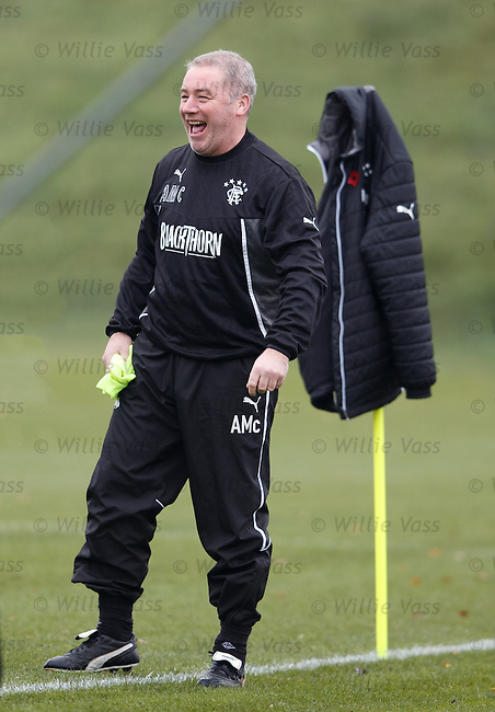 Ally McCoist having a laugh