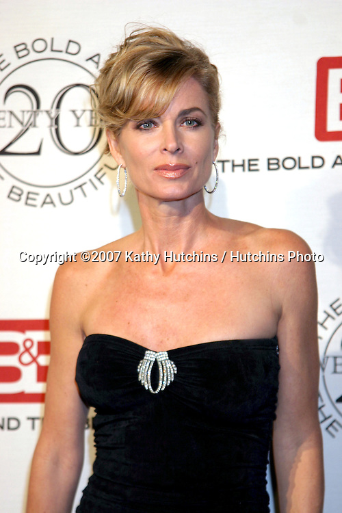 Eileen Davidson.The Bold & The Beautiful 20th Anniversary Party.Two Rodeo Drive.Beverly Hills, CA.March 25, 2007.©2007 Kathy Hutchins / Hutchins Photo.