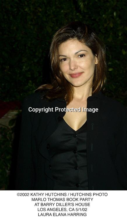 ©2002 KATHY HUTCHINS / HUTCHINS PHOTO.MARLO THOMAS BOOK PARTY.AT BARRY DILLER'S HOUSE.LOS ANGELES, CA 5/1/02.LAURA ELANA HARRING