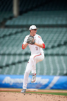 Ben Jordan (3) of West Carter County High School in Olive Hill, Kentucky during the Under Armour All-American Game presented by Baseball Factory on July 23, 2016 at Wrigley Field in Chicago, Illinois.  (Mike Janes/Four Seam Images)