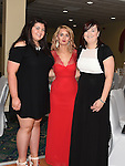 Megan McGrane, Aine O'Callaghan and Shirley Reynolds pictured at the Termonfeckin Macra reunion in the Boyne Valley hotel. Photo:Colin Bell/pressphotos.ie