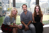"DIRECTOR MELANIE LAURENT, GILLES LELLOUCHE AND MARIA VALVERDE - FILM ""PLONGER"" - 42ND TORONTO INTERNATIONAL FILM FESTIVAL 2017"