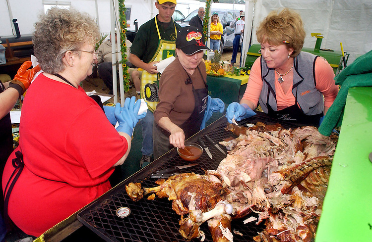 meat, grill, pig, roasting, judges