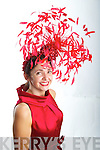 "Milliner Carol Kennelly who won the heat of ""Who wants to be a Milliner"" competition at the Curragh on Sunday, Carol is now one of four in the final to be judged by Philip Treacy."