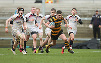 Wednesday 7th March 2018 |  RBAI vs Royal School Armagh<br /> <br /> Niall Armstrong during the Ulster Schools Cup Semi-Final between RBAI vs Royal School Armagh Stadium, Ravenhill Park, Belfast, Northern Ireland. Photo by John Dickson / DICKSONDIGITAL