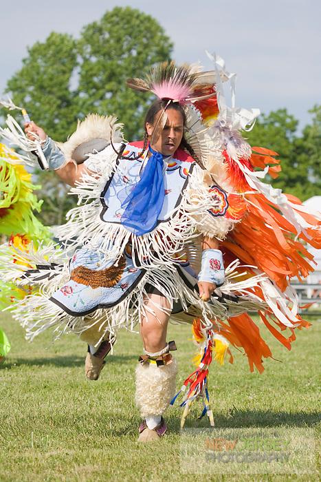 Traditional Fancy Dancer, at the Nanticoke Lenni-Lenapi Indian Pow Wow