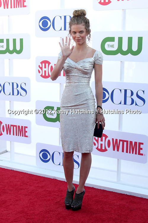 LOS ANGELES - JUL 29:  AnnaLynne McCord arrives at the CBS, CW, and Showtime 2012 Summer TCA party at Beverly Hilton Hotel Adjacent Parking Lot on July 29, 2012 in Beverly Hills, CA