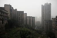 Residential Real Estate Development In Chongqing, China.  © LAN