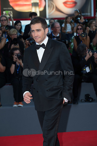 Jake Gyllenhaal  at the premiere of Nocturnal Animals at the 2016 Venice Film Festival.<br /> September 2, 2016  Venice, Italy<br /> CAP/KA<br /> &copy;Kristina Afanasyeva/Capital Pictures /MediaPunch ***NORTH AND SOUTH AMERICAS ONLY***