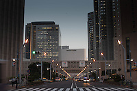 Shnjuku business district, Tokyo, Japan.<br /> March-2015