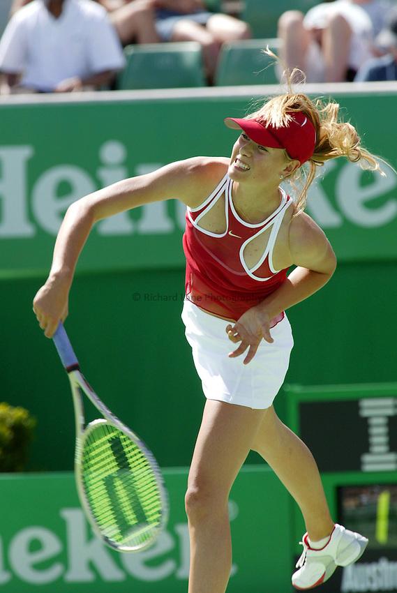 Maria Sharapova, Australian Tennis Open 2004, Melbourne, Australia