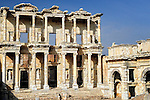 Library of Celsus in Ephesus near Kusadasi, Turkey