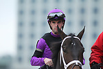 February 17, 2020: Jockey Florent Geroux before the Razorback Handicap at Oaklawn Racing Casino Resort in Hot Springs, Arkansas on February 17, 2020. Justin Manning/Eclipse Sportswire/CSM