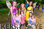 Ella and Ava Lowe (Killarney), Sofia Edwards with Poppy the Potion Fairy, Ellie O'Donovan and Ruby the Rainbow Fairy enjoying the Enchanted Festival in Kilflynn on Sunday.
