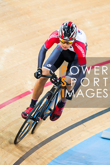 Fong Cheuk Shan of SCAA in action during the  Junior 17-18 1km Time Trial (Final) at the Hong Kong Track Cycling Race 2017 Series 5 on 18 February 2017 at the Hong Kong Velodrome in Hong Kong, China. Photo by Marcio Rodrigo Machado / Power Sport Images