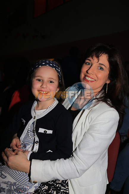 Arianne and Anita Flynn.at the Mattock Rangers fashion show..Picture: Fran Caffrey / www.newsfile.ie ..