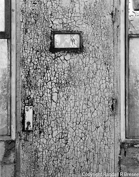 &quot;Greenhouse Door&quot; Gibson Greenhouses, Maryville, Tennessee<br />