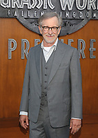 LOS ANGELES, CA - JUNE 12: Steven Spielberg, at Jurassic World: Fallen Kingdom Premiere at Walt Disney Concert Hall, Los Angeles Music Center in Los Angeles, California on June 12, 2018. <br /> CAP/MPIFS<br /> &copy;MPIFS/Capital Pictures