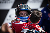 June 4th 2017, Mugello Circuit, Tuscany, Italy; MotoGP Grand Prix of Italy, Race day;  ANDREA DOVIZIOSO DUCATI TEAM celebrates his race win