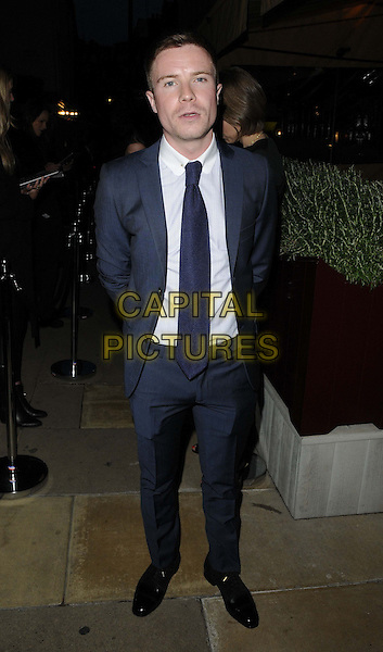 Joe Dempsie<br /> The Esquire &amp; Jimmy Choo party as part of the London Collections : Men 2013, No 5 Hertford Street, Hertford St., London, England.<br /> June 16th, 2013<br /> full length blue suit tie white shirt <br /> CAP/CAN<br /> &copy;Can Nguyen/Capital Pictures