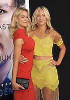 Brittany Daniel &amp; Cynthia Daniel (in yellow) at the Los Angeles premiere of &quot;Transcendence&quot; at the Regency Village Theatre, Westwood.<br /> April 10, 2014  Los Angeles, CA<br /> Picture: Paul Smith / Featureflash