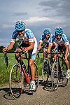 National Team Azerbaijan (AZE), Stage 2: Team Time Trial, 62th Olympia's Tour, Netterden, The Netherlands, 13th May 2014, Photo by Pim Nijland / Peloton Photos