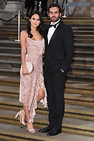 "Lucy Watson and James Dunmore<br /> arriving for the world premiere of ""Our Planet"" at the Natural History Museum, London<br /> <br /> ©Ash Knotek  D3491  04/04/2019"