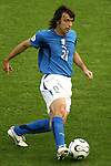 26 June 2006: Andrea Pirlo (ITA). Italy (1st place in Group E) defeated Australia (2nd place in Group F) 1-0 at Fritz-Walter Stadion in Kaiserslautern, Germany in match 53, a Round of 16 game, in the 2006 FIFA World Cup.