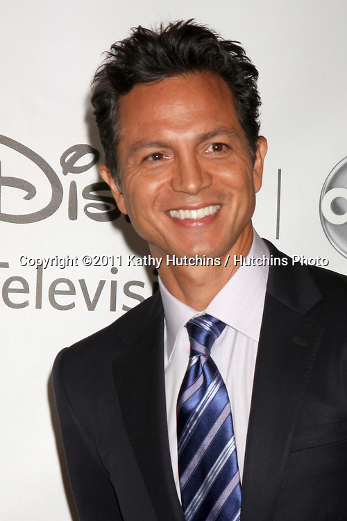 LOS ANGELES - AUG 7:  Benjamin Bratt arriving at the Disney / ABC Television Group 2011 Summer Press Tour Party at Beverly Hilton Hotel on August 7, 2011 in Beverly Hills, CA