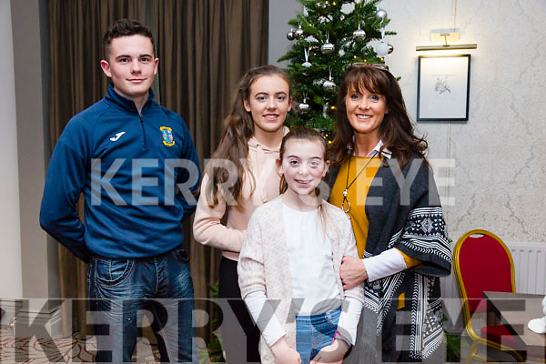 Enjoying the 'Strictly Come Dancing' event in aid of Pieta House at the Ashe Hotel on Thursday. Pictured Daniel Culloty, Gemma Burke, Laura Burke, Mary Burke