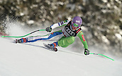 10th February 2019, Are, Sweden; Alpine skiing: Combination, ladies: downhill; Ilka Stuhec from Slovenia on her run