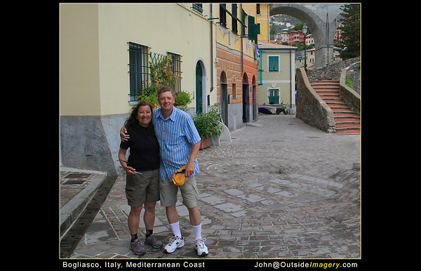 Italy, Mediterranean Coast. <br />