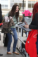 November 13rd, 2012 - London..Lana Del Ray seen leaving Radio One studios.
