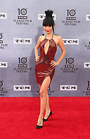 Los Angeles CA Apr 11: Bai Ling, arrive to 2019 TCM Classic Film Festival Opening Night Gala And 30th Anniversary Screening Of &quot;When Harry Met Sally&quot;, TCL Chinese Theatre, Los Angeles, USA on April 11, 2019 <br /> CAP/MPI/FS<br /> &copy;FS/MPI/Capital Pictures