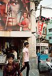 Street scene in Baroda, Gujarat