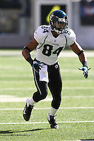 09/18/11 East Rutherford, NJ: Jacksonville Jaguars wide receiver Cecil Shorts #84 during an NFL game played at Met Life Stadium between the New York Jets and the Jacksonville Jaguars. The Jets defeated the Jaguars 32-3