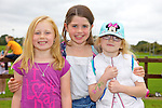Pictured at the Tralee Rugby Club fun day on Saturday were Sadhbh Cadogan, Nora Cadogan, Rachel Seargent