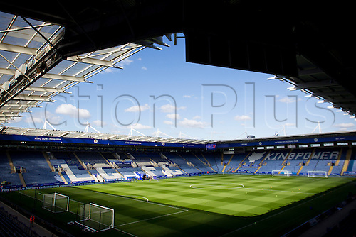 26.09.2015. Leicester, England. Barclays Premier League. Leicester City versus Arsenal.  A general view of the King Power Stadium pictured before kick-off.