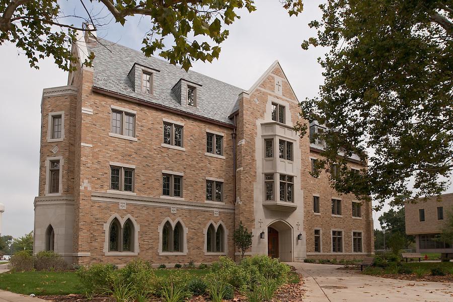Geddes Hall..Photo by Matt Cashore/University of Notre Dame