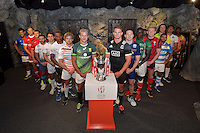 Wellington Sevens - Captains Photo at Weta workshop, Wellington, New Zealand on Thursday 26 January 2017.<br /> Photo by Masanori Udagawa<br /> www.photowellington.photoshelter.com.