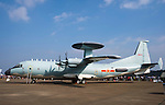 A KJ-500 airborne early warning and control system (AEW&C) aircraft on display at the China International Aviation & Aerospace Exhibition (Airshow China 2016) at China International Aviation Exhibition Center on 02 November 2016, in Zhuhai, China. Photo by Marcio Machado / Power Sport Images