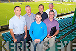 County Championship Review Committee Report to the Kerry County GAA  committee Meeting held at Austin Stack Park on Monday pictured front l-r Michael Murphy, Secretary, Tony O'Keeffe, Chairman of the County Championship Review Committee, Back l-r Eamon Creedon, Michael Sayers, Michael Pickett, Mike Buckley