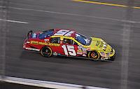 May 1, 2009; Richmond, VA, USA; NASCAR Nationwide Series driver Michael Annett during the Lipton Tea 250 at the Richmond International Raceway. Mandatory Credit: Mark J. Rebilas-