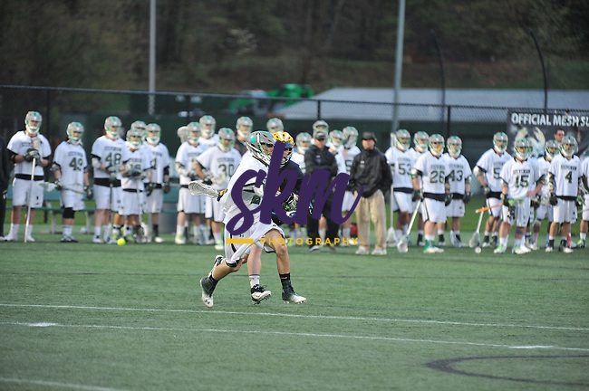 Stevenson Men's lacrosse team advances to the Commonwealth Conference Championship game as they defeat Lycoming 5-24 in the semifinal round Thursday night at Mustang Stadium in Owings Mills.