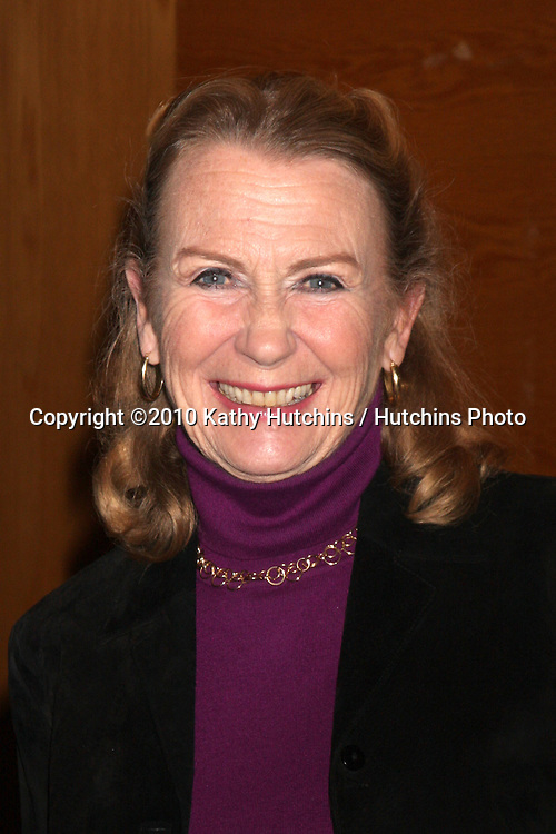 """Juliet Mills.Soap Fan Mystery Theatre Presents a Staged Reading of Agatha Christie's The """"Unexpected Guest"""".Writers Guild of America Theater.Beverly Hills, CA.February 20, 2010.©2010 Kathy Hutchins / Hutchins Photo...."""