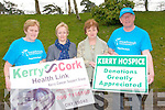 Three cancer charities will benefit from the annual Shelia Moynihan Memorial walk in Rathmore which takes place on May 19th. .L-R Han Donnelly, Margaret Breen, Marie and Hugh Ryan.