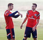 Steven Whittaker and Russell Martin