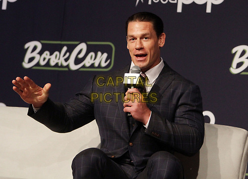 NEW YORK, NY - June 01: BookCon 2019 presents John Cena: One on One promoting his new book Elbow Grease vs Motozilla at the Javits Center in New York City on  June 01, 2019.<br /> CAP/MPI/RW<br /> ©RW/MPI/Capital Pictures
