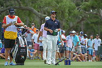 Adam Scott (AUS) looks over his tee shot on 12 during round 3 of The Players Championship, TPC Sawgrass, at Ponte Vedra, Florida, USA. 5/12/2018.<br /> Picture: Golffile | Ken Murray<br /> <br /> <br /> All photo usage must carry mandatory copyright credit (&copy; Golffile | Ken Murray)