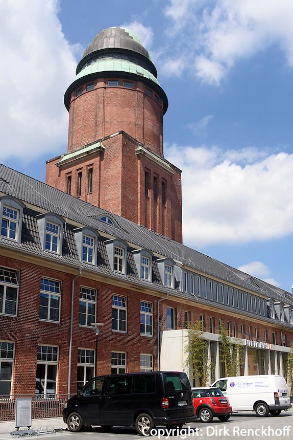 Meridian Spa im Wasserturm ehemaliges Krankenhaus Barmbek, Hamburg, Deutschland<br /> Meridian Spa in watertower of former Hospital Barmbek, Hamburg, Germany